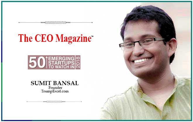 Sumit Bansal - The CEO Magazine
