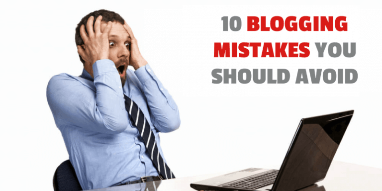 Common Blogging Mistakes by Beginners