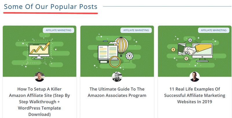Check Popular Posts from blogs in your niche