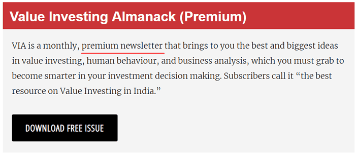 Best Personal Finance Blogs in India - Premium Newsletter by Safal Niveshak